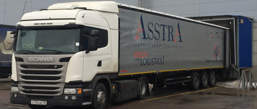 AsstrA's methane-powered truck passes first test with flying colors