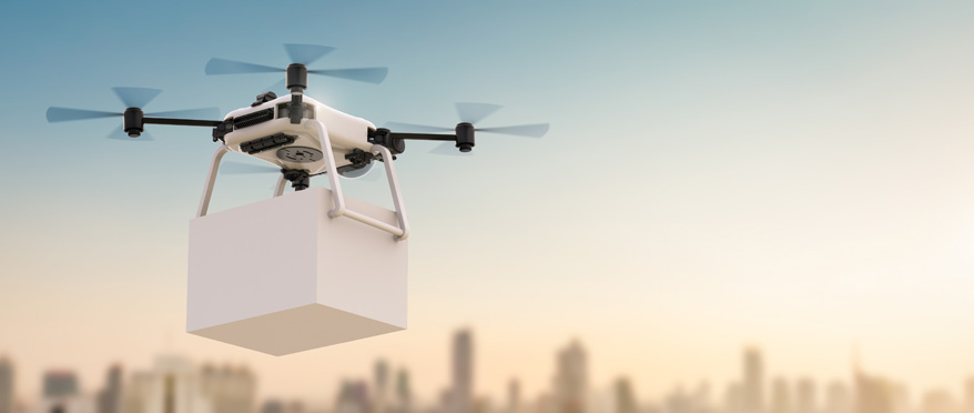 Wild Patent Idea: Drones Resupplying Electric Vehicles With Fresh Batteries