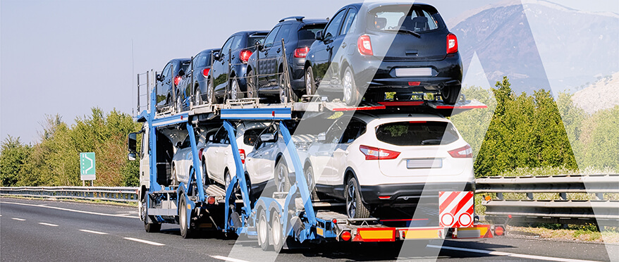 Delivery by auto transporters