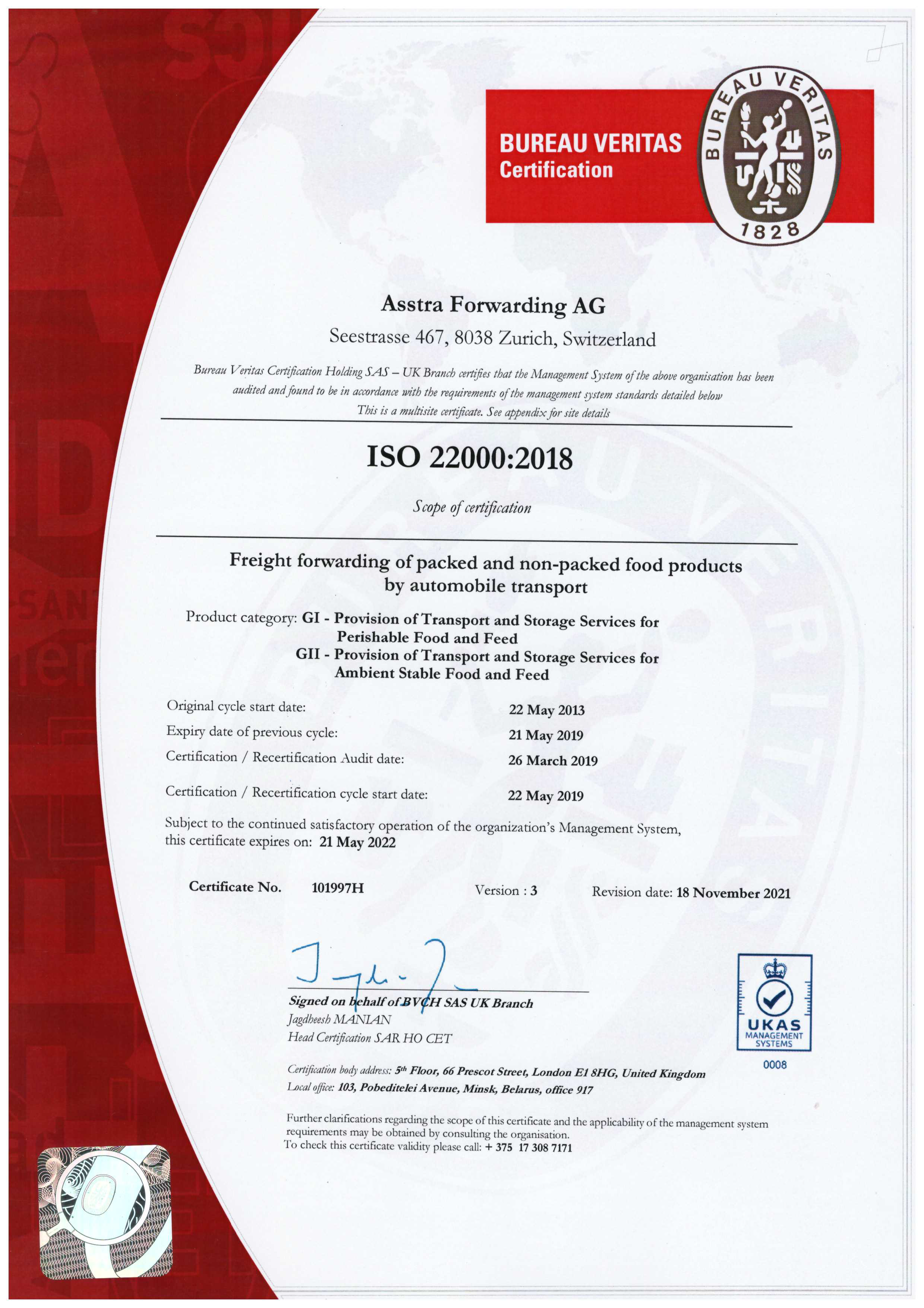 Certificates and Associations