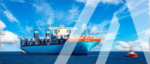 Transport company  International cargo transportation between the